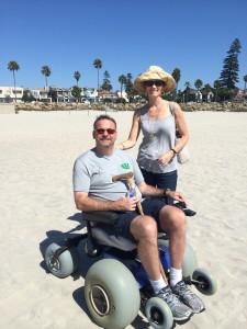 2014-March - Beach Wheelchair